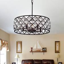 5 light drum chandelier