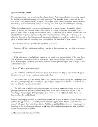 writing a good college application essay successful college essays military bralicious co