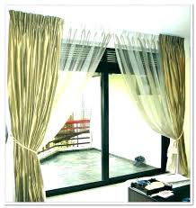 panel curtains for sliding glass doors single door curtain sheer pole
