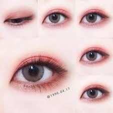 korea eye make up pin by akiwarinda