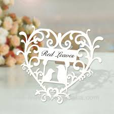 2016 red leaves laser cut place table card heart shape table Laser Cut Wedding Place Cards 2016 red leaves laser cut place table card heart shape table name card stand place black laser cut wedding place cards