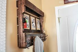 Pallet Coat Rack Simple Handmade Pallet Coat Rack The Few The Proud And This Marine Wife