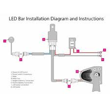 led light bar wiring harness diagram gooddy org cree led light bar wiring harness at Led Wiring Harness