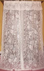multiple pairs hard to find lace curtains 4th vintage french country victorian chic