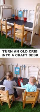 do it yourself furniture projects. Easy Diy Furniture Projects. Refurbish A Crib Into Craft Table For The Kids! - Do It Yourself Projects
