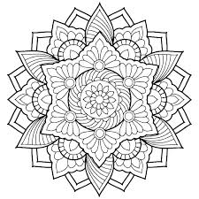 Mandala Coloring Pages For Printable Expert Mandala Coloring Pages