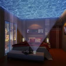 Ocean Wave Projector Night Light 7 Colorful Romantic Aurora Master Led Light Ocean Wave