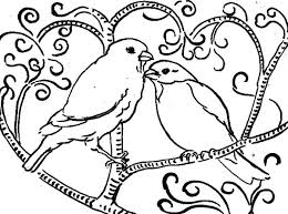 Small Picture Cute Love Birds Coloring Pages Batch Coloring