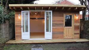 man cave she shed garden office