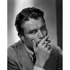 A Portrait Of Kent Smith Smoking A Cigarette Photo Print - Overstock -  25390496