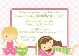 my slumber party invitation einvite birthday parties clipart