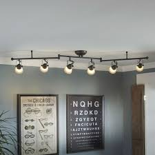 drop ceiling track lighting installation. allen + roth tucana bronze dimmable fixed track light kit at lowe\u0027s. brighten your space and upgrade home lighting experience with this unique drop ceiling installation s