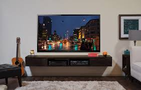 Wall Mounted Living Room Furniture Attractive Wall Mount Tv Stand Home Decorations Ideas