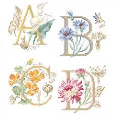 Alphabet Chart Australia The Big Botanical Alphabet Chart Les Brodeuses Parisiennes