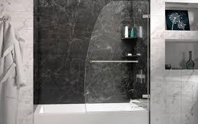 shower depot delta glass doors replacement frosted frameless parts insert sterling menards st seal bathtub door