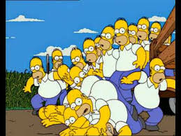 Video  The Simpsons Send In The Clones  Simpsons Wiki  FANDOM Treehouse Of Horror Xiii Full Episode