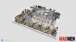 the office floor plan. 5) Mad Men The Office Floor Plan U