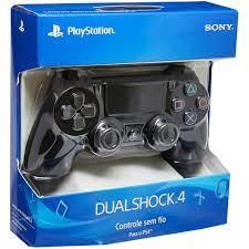 Controle PS4 Sony / Dualshock 4 Novo Original Preto Playstation
