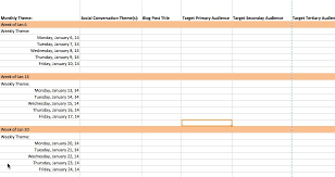 Weekly To Do Calendar Template The Complete Guide To Choosing A Content Calendar