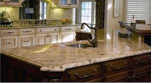 dressy kitchen with raised counter