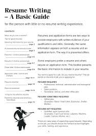 Examples Of Short Resumes Sarahepps Com