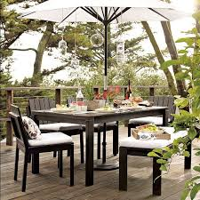 west elm outdoor furniture. woodslat dining collection modern outdoor tables by west elm furniture