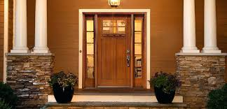craftsman style front doors mission door with sidelights fiberglass entry home depot