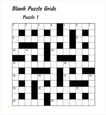 blank crossword puzzle grids printable blank crossword template threeroses us