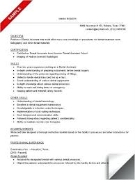 Resume Templates For Dental Assistant Custom Resume Template For Dental Assistant S Shoulderboneus