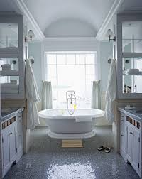 Creating a large bathroom opens the door to a number of design options,  including the addition of a large soaking tub or walk-in shower that  wouldn't be ...