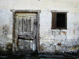 old door and window