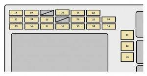 toyota corolla mk9 fuse box instrument panel toyota corolla  at How To Open Panel Fuse Box Toyota Corolla 2004