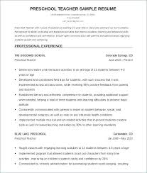 Google Drive Resume Mesmerizing Sample English Teacher Resume Template 48 Teaching Templates For