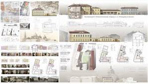 КГАСУ Кафедра реконструкции реставрации архитектурного наследия  Примеры дипломных проектов в разные годы по реконструкции