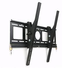 Tv wall mouns Corner Locking Tv Wall Mount Displays2go Locking Tv Wall Mount With Tilting Arms 2 Locks