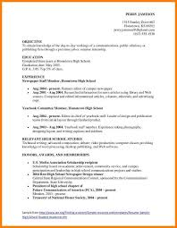 11 Teen Resume Template G Unitrecors