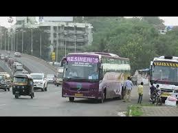 Kesineni Travels Raipur Videos Matching Volvo Buses B11r And B9r Parkeing In Mumbai