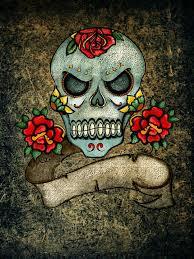 Lebka A Zkřížené Hnáty Růže Pozadí Obrázek Zdarma Na Pixabay