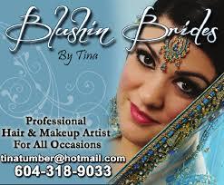 blushin bridesy by tina mobile makeup artist for bridal and non bridal surrey bc