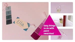 Easy Things To Paint 3 Fun And Easy Things To Do With Paint Swatches Ella Sophia