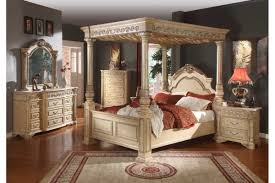 real wood bedroom furniture industry standard: cool master bedroom with stands free four poster king size bed feats plain light grey wall