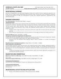Nurse Resume Template Inspiration Resume For Rn Nurse Captivating Entry Level Nurse Resume Sample No