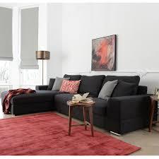 verona left hand corner sofa charcoal