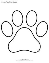 bulldog paw print outline. Wonderful Print Image Result For Paw Print Templates Inside Bulldog Paw Print Outline