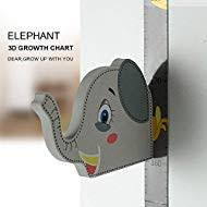 Kindergarten Height Chart Wpt 3d Elephant Growth Chart Height Ruler Magnetic