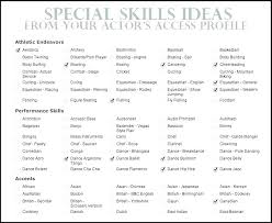 resume example for skills section sample resume computer skills skill resume samples sample skills on