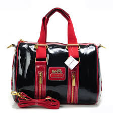 Coach Smooth Medium Red Luggage Bags 21652