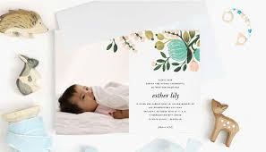 super cute naming ceremony invitation card templates and invitation messages