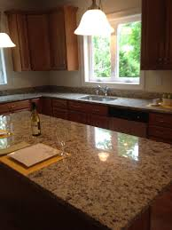 Santa Cecilia Light Granite Kitchen Countertops
