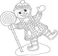 Small Picture Gingerbread Coloring Pages Coloring Book of Coloring Page